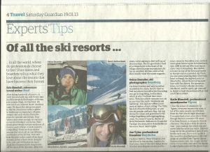 19-1-13 Katie Blundell in The Guardian! 001