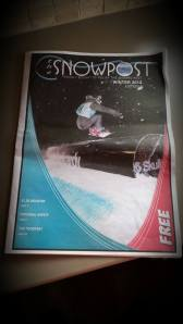 Perisher Mag/Newspaper Front cover