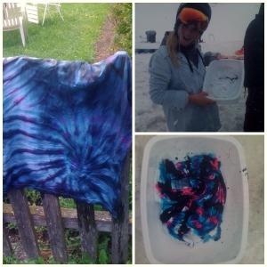 Tie dye board test