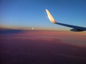 Flight to Laax