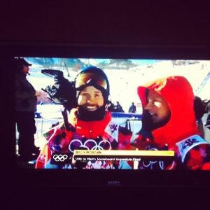 Billy Morgan and Jamie Nicholls in the Olympics!