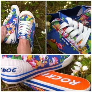 """Jazzin Shoe"""" Opa Blue"""