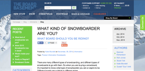 What Type of Snowboarder Are You???